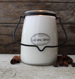 Butter Jar 22 oz Welcome Home