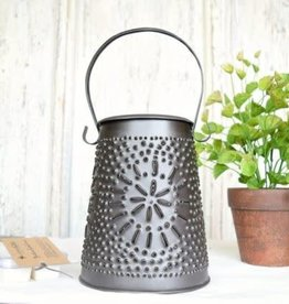 Punched Tin Melter Smokey Black
