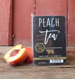 Large Fragrance Melts Peach Tea
