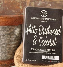 Large Fragrance Melts White Driftwood and Coconut