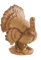 "10"" Resin Standing Turkey"