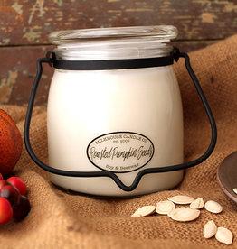 Butter Jar 16 oz  Roasted Pumpkin Seeds