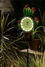 """47"""" Solar Cactus Thermometer w/Stake"""