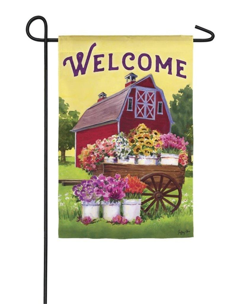 Flower Farm Spring Garden Flag