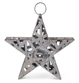 16 Inch Woven Metal Star Lantern