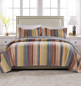 Greenland Home Katy Quilt Set - King