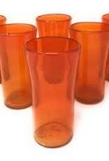 Lily Glass (Solid Orange) 14oz