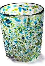 Del Mar - Turquoise/Lemon Green Pebble (Short Tumbler) 12oz