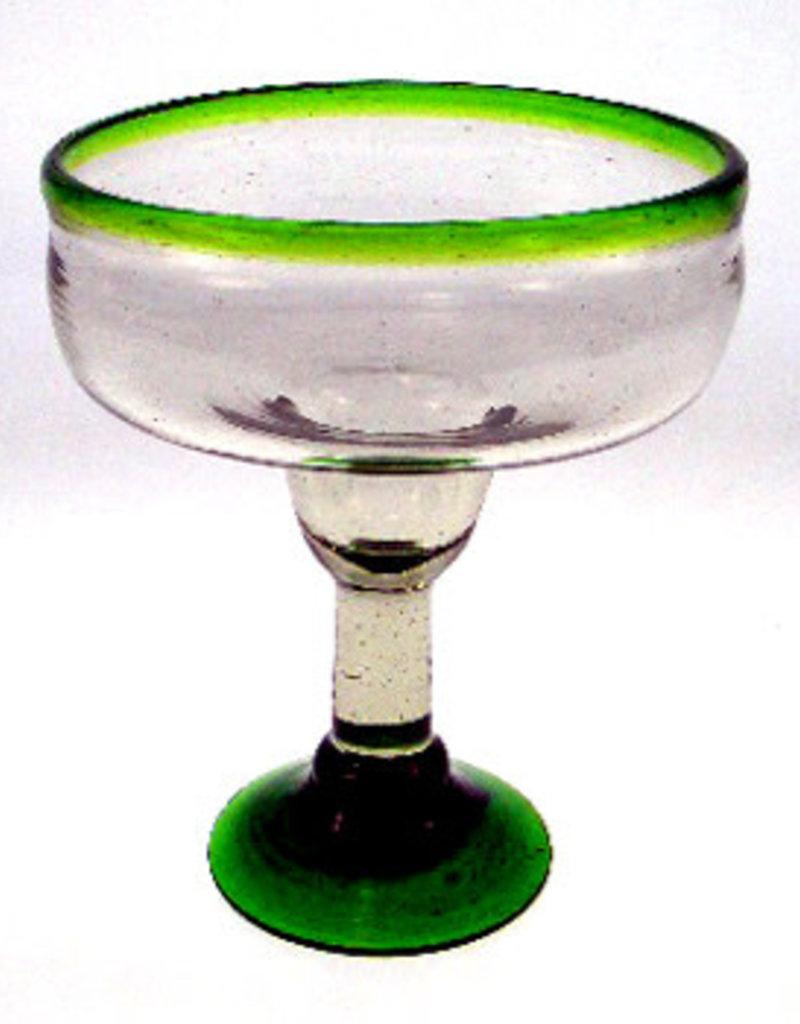 Margarita Coupette (Green Rim) 12oz