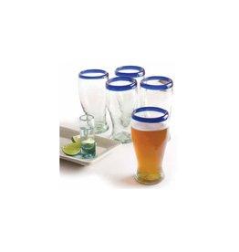 Short Pilsner (Cobalt Rim) 16oz