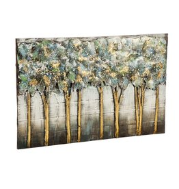 Handcrafted Trees 3D Metal Wall décor