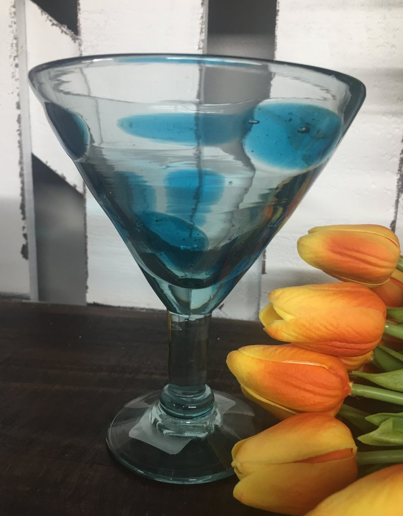 Turquoise Splash Margarita/Martini (12 oz)