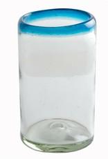 Tumbler (Turquoise Rim) 16oz