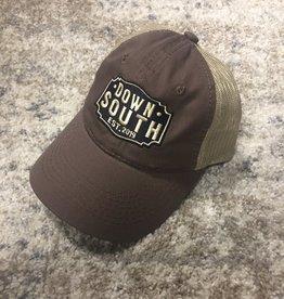 Down South Logo Hat brown/tan