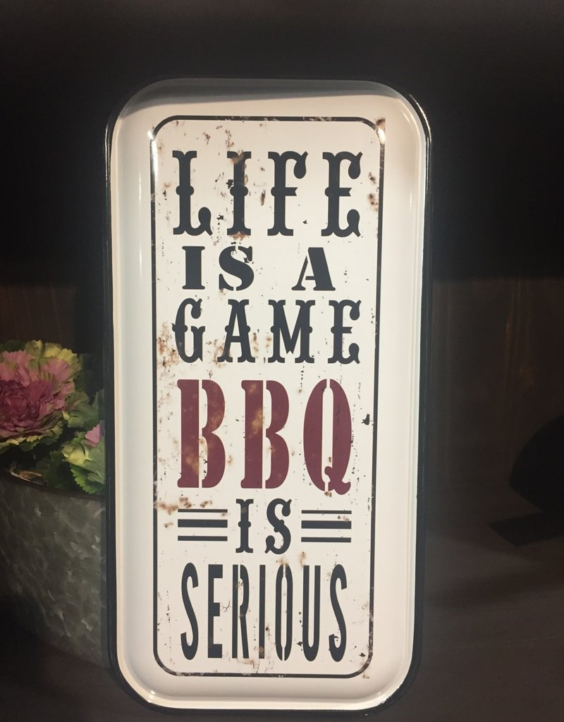 Life is a Game... BBQ is Serious