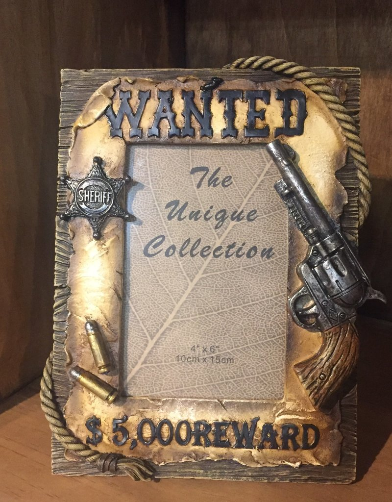 """""""Wanted"""" Picture Frame"""