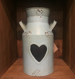 Milk Container with Heart (Blue)