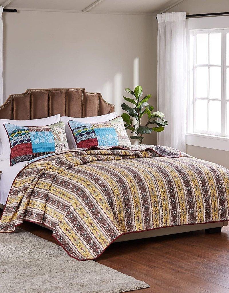 Bohemian Dream Quilt Set King 105X95
