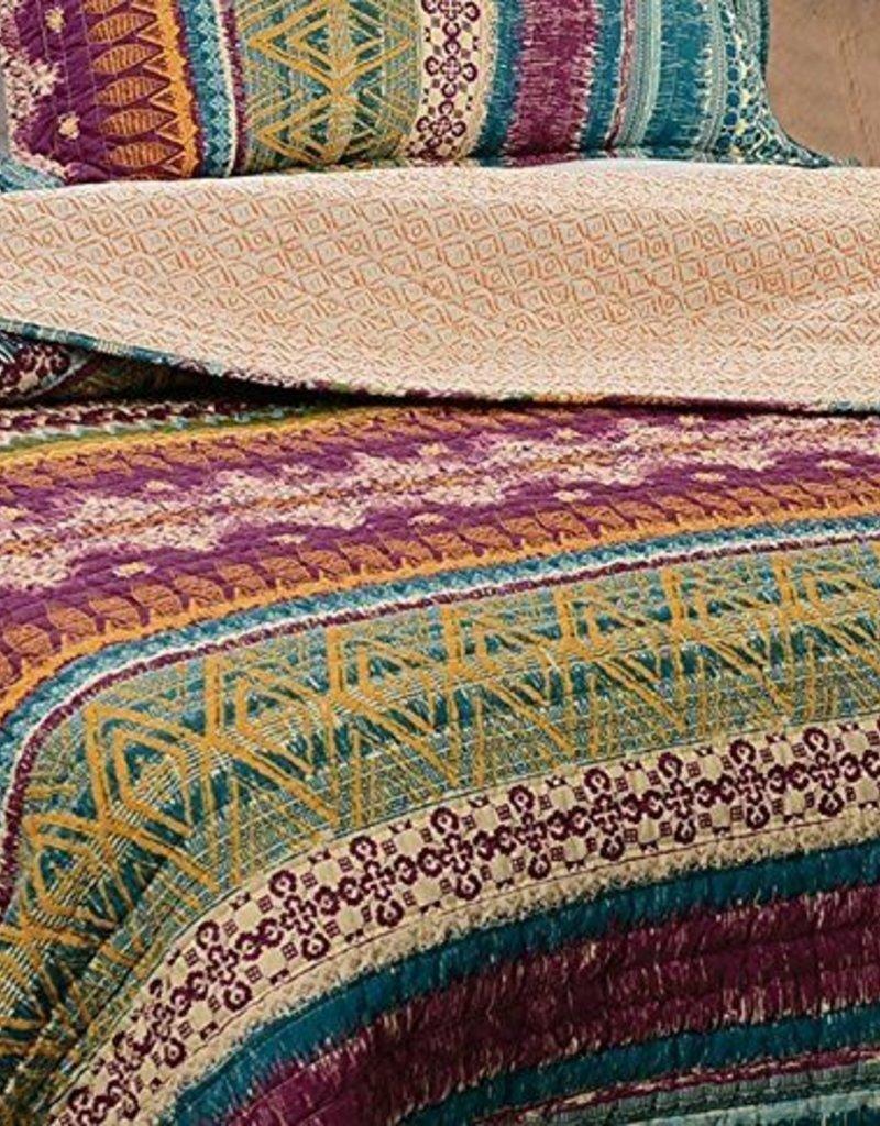 Greenland Home Southwest 3 Piece Quilt Set - Queen