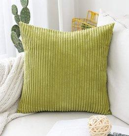 "Corduroy Pillow 26"" x 26"" - Green"