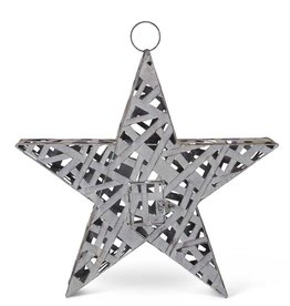 23.5 Woven Metal Star Lantern