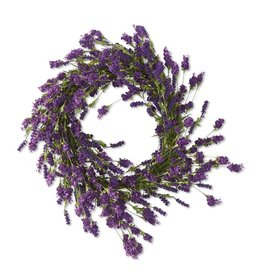 24 Inch Purple Hops and Berry Wreath