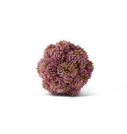 4 Inch Pink Sedum Ball