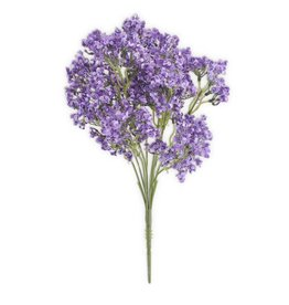 "K & K Interiors Light Purple Statice Bush 17.5 """