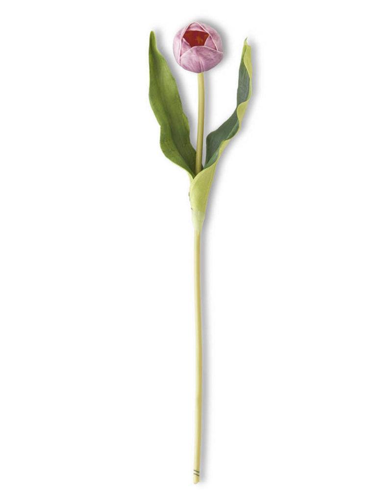 19.5 Inch Purple Tulip