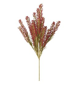 "21"" Burgundy Heather Grass Spray"