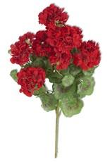 """24"""" Red Geranium Bush"""