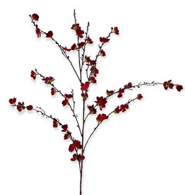 "50"" Red Cherry Blossom Stem"