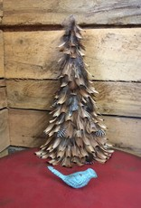 Camel Feathered Cone Tree - Small