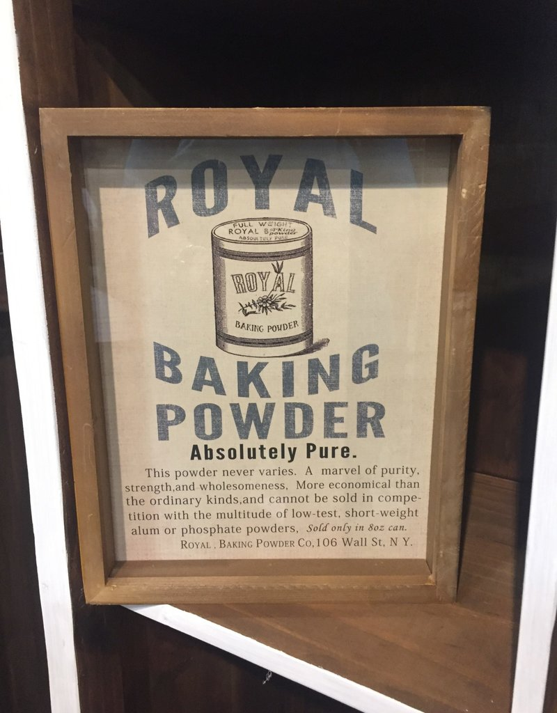 Baking Ingredients Framed Print - Baking Powder