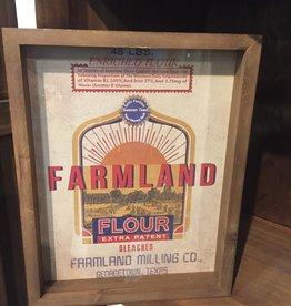 Baking Ingredients Framed Print - Farmland Flour