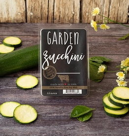 Large Fragrance Melts Garden Zucchini