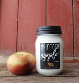 Farmhouse Mason Jar 13oz Mcintosh Apple