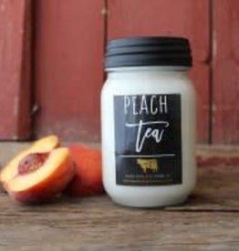 Farmhouse Mason Jar 13 oz Peach Tea