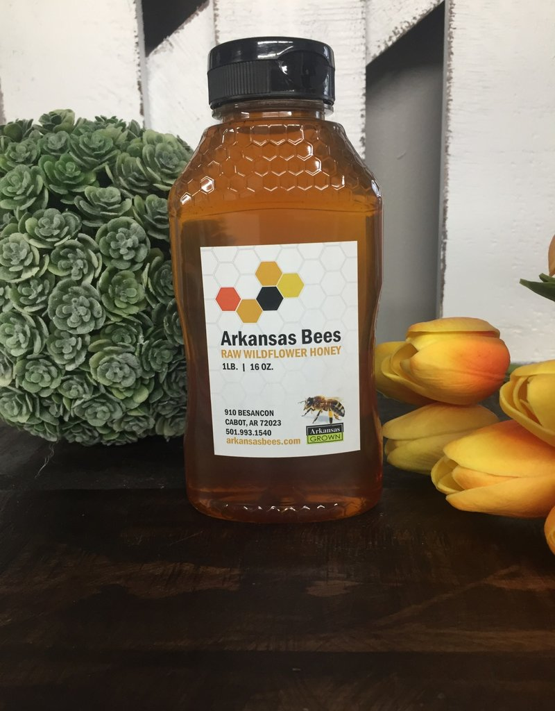 Arkansas Bees Honey 16 OZ.