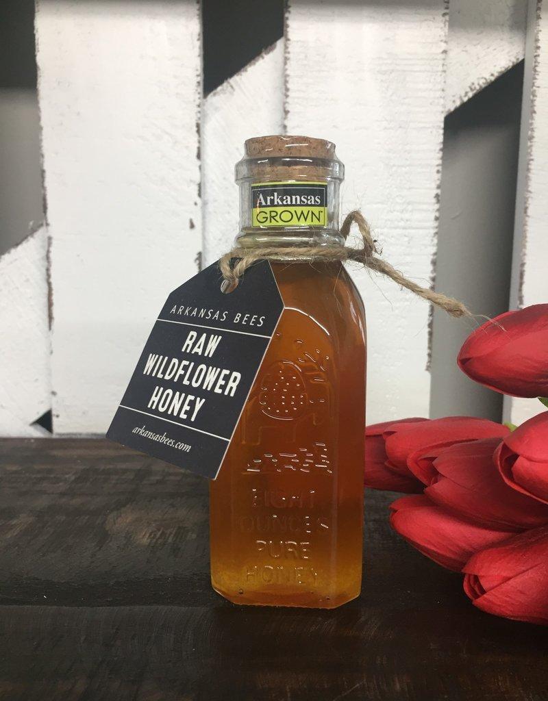 Raw Wildflower Honey Jar 8 oz