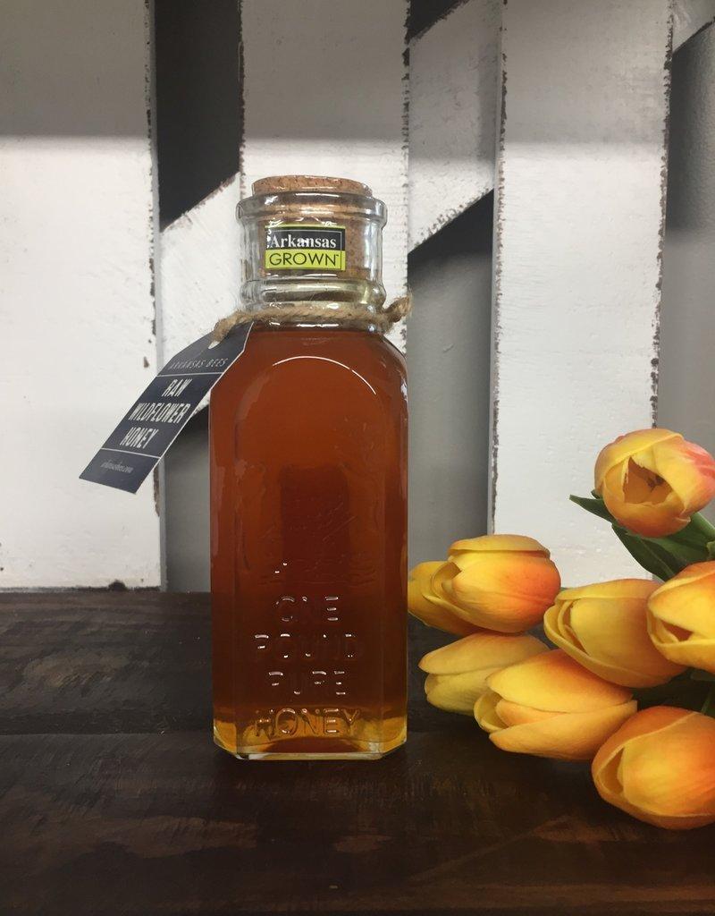 Raw Wildflower Honey Jar 16 oz