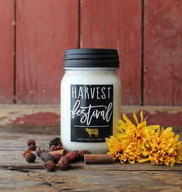 Farmhouse Mason Jar 13 oz Harvest Festival