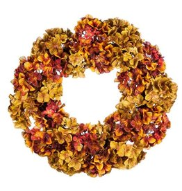 "24"" Hydrangea Grapevine Wreath"