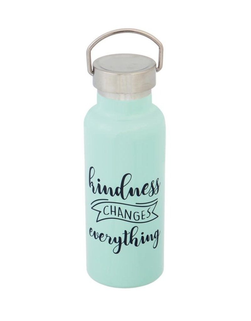 Double Wall Stainless Steel Cup with Lid, 17 OZ KINDNESS CHANGES EVERYTHING