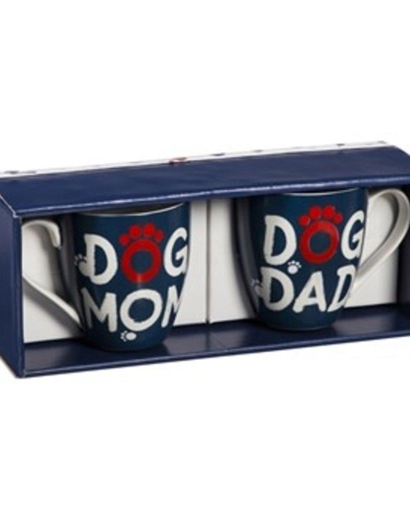 Ceramic 17 OZ Cups Gift Set, Pet Pride