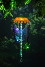 Light Chasing Color Changing Solar Mobile, Butterfly