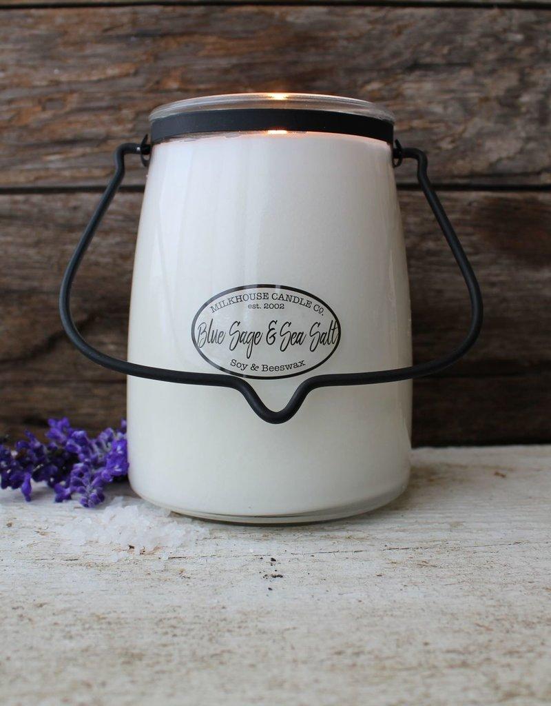 Butter Jar 22 OZ Blue Sage & Sea Salt