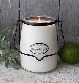 Butter Jar 22 oz - White Sage & Bergamot