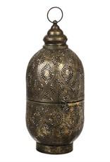 Pierced Metal Lantern - Large