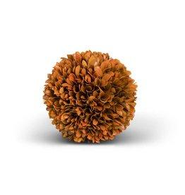 "Orange Preserved Boxwood Ball 6"""
